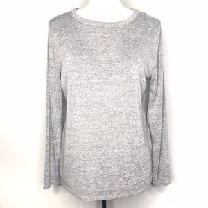 Gap Gray Long Sleeve Shirt Top A090657